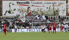 Pro Vercelli: tifosi Under 20 gratis in curva!