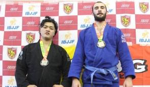 Vittorio Cafasso vince gara di Jiu-Jitsu in Giappone