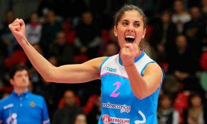 Finali scudetto volley femminile. Male la prima per Federica Valeriano