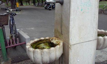 Fontanella della stazione: acqua pubblica veramente sprecata…