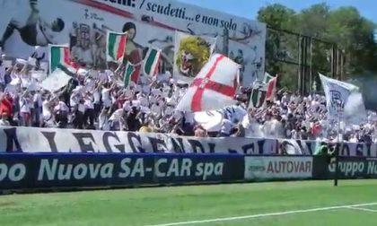 Pro Vercelli: esodo di tifosi a Como