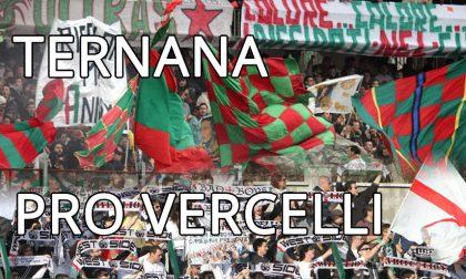"""Pro Vercelli, questa sera a Terni altro """"esame"""" salvezza"""