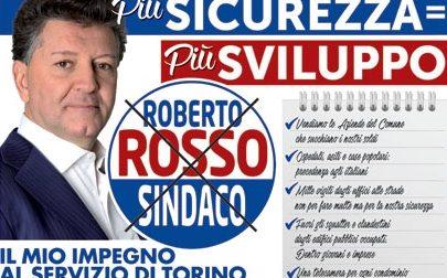 Roberto Rosso fanalino di coda nei sondaggi a candidato sindaco di Torino