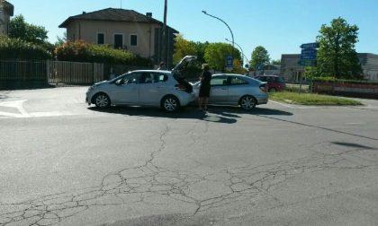 Scontro tra due auto a Buronzo