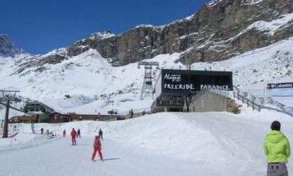 Ultimo giorno per gli sciatori ad Alagna