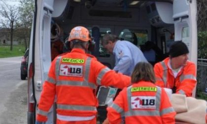 Vercellese 47enne coinvolto in un frontale