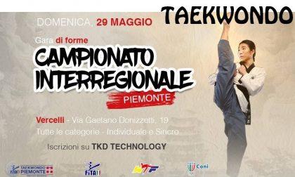 A Vercelli 300 atleti per il campionato di Taekwondo