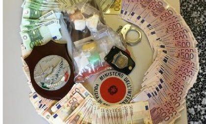 Arrestato con 41.000 euro nella fodera della giacca