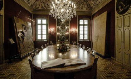 Immagini sdoppiate a Palazzo Pasta