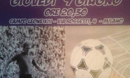 Nel ricordo di Ugo Ferrante in campo a Milano tanti ex calciatori