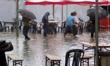 Nubifragio a Vercelli. Il disastro di parco Kennedy