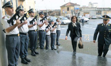 Vercelli, il Prefetto in visita alla Guardia di Finanza