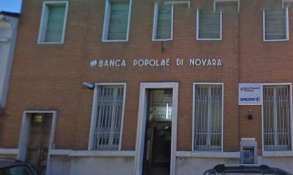 Fontanetto Po, furto nella notte alla Banca Popolare di Novara
