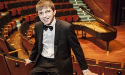 Il giovane pianista Filippo Gorini in concerto al Borgogna