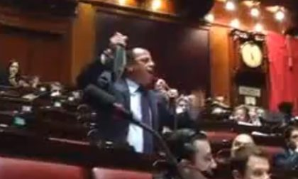"""In Parlamento i """"cimeli"""" degli interventi di Gianluca Buonanno"""