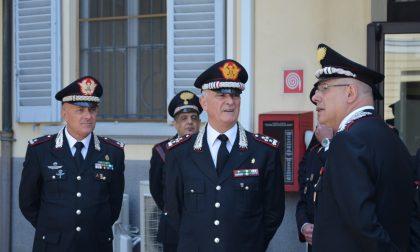 Il Generale Del Sette in visita al Comando Provinciale dei carabinieri