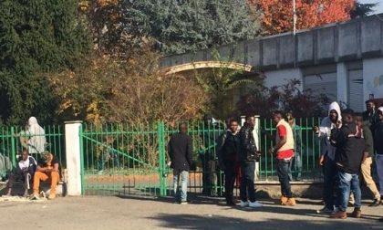 Rissa al centro profughi di via Monte Bianco