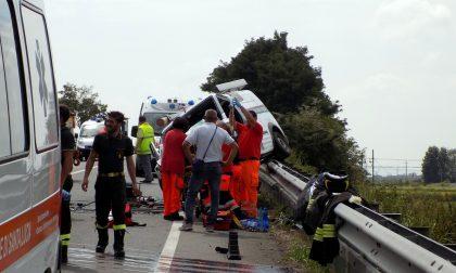 Trasferito a Torino il ferito dell'incidente sulla Tangenziale Ovest