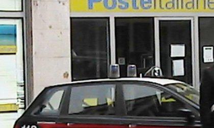 CRONACA: rapina alle Poste a pochi chilometri da Trino. Bottino di 30mila euro