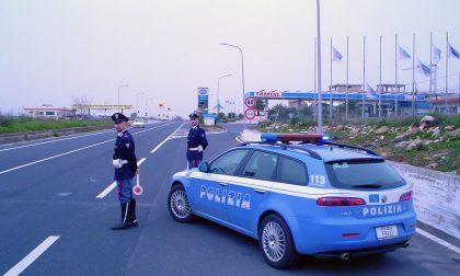 UBRIACO contromano su A26: fermato a Vercelli Est