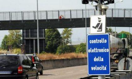 Nuovo autovelox sull'autostrada A4 Torino-Milano