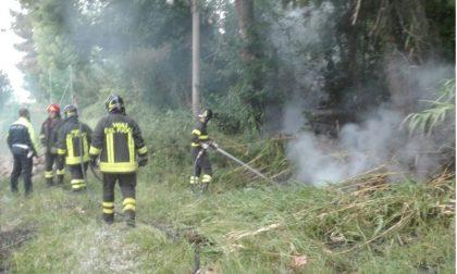CRONACA: le fiamme distruggono il campo da calcio