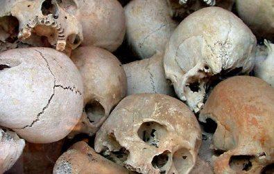 Cadavere senza nome nascosto in un ossario