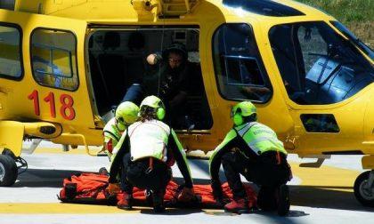 SANTHIA': 58enne perde la gamba in un incidente
