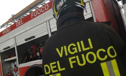 VERCELLI: Incendio in via Pacinotti