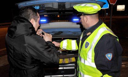 VERCELLI: Guidava ubriaco, denuncia e patente ritirata