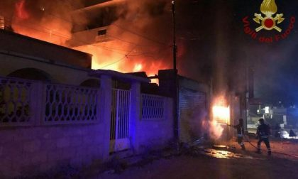 CRONACA: Incendio a Mortara, rischio diossina