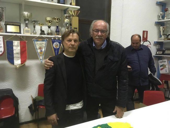 Pino Marzella presentato al palahockey