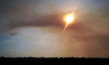 Stoppie bruciate nuovi roghi nel Vercellese