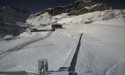 Valsesia imbiancata dalla prima neve