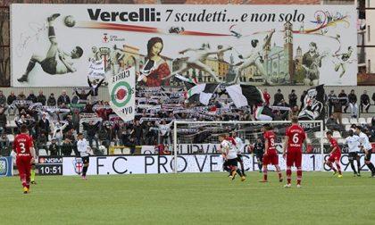 Esodo tifosi per Novara-Pro Vercelli
