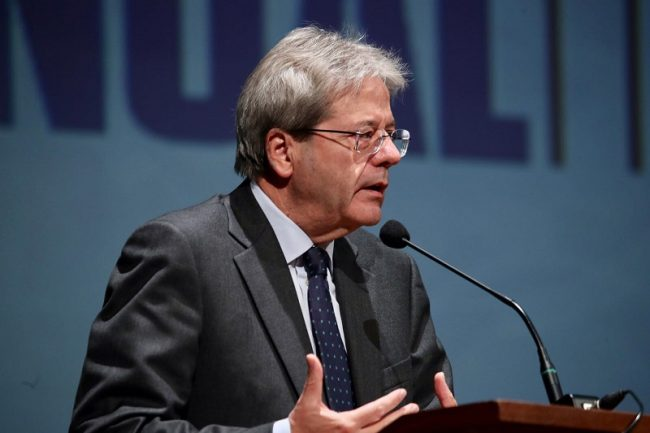 Gentiloni a Vercelli Il bilancio di Confindustria