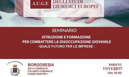 Convegno disoccupazione a Borgosesia