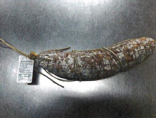 Salmonella, salame ritirato: il Ministero della salute lancia l'allerta