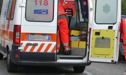 Incidente in moto: ferito un vercellese