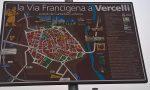Via Francigena nuovi cartelli in città