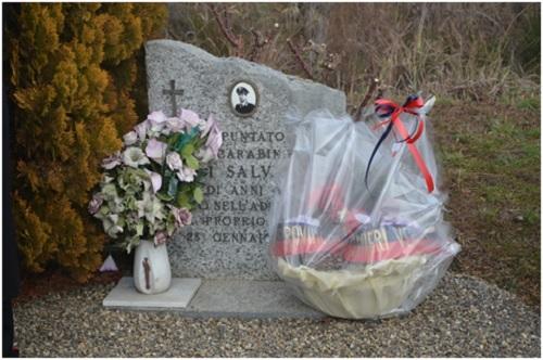 Salvatore Vinci, commemorazione, Vercelli