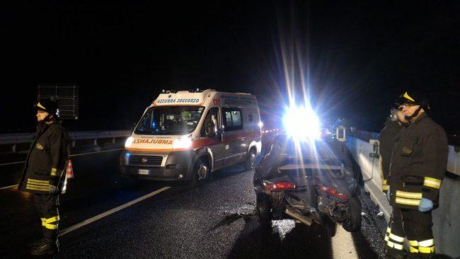 Carro funebre causa terribile incidente sulla A4: due morti