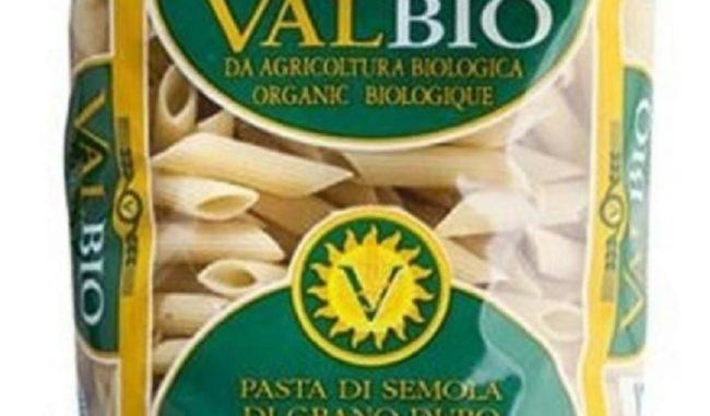 Pasta biologica Valbio: possibile contaminazione da parassiti