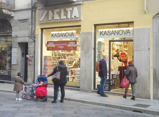 Kasanova nuovo centro vendita aperto a Vercelli