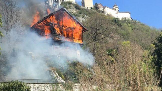 Rogo a Varallo: distrutta la Casa valsesiana