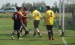 Calcio Csi gazzarra alla partita tra Conet e Warriors