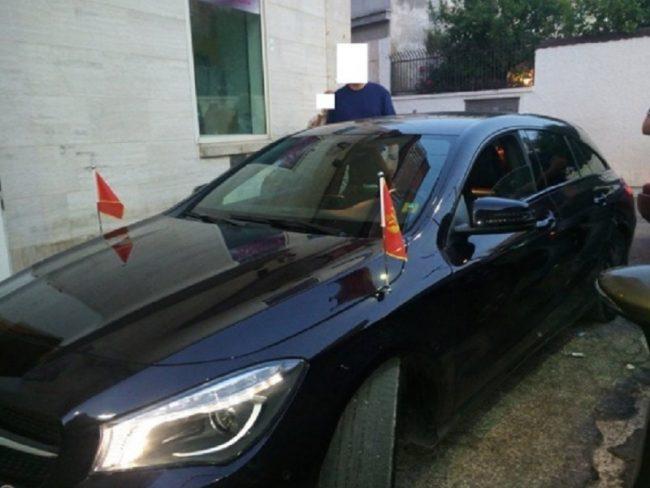 Finto diplomatico fermato dalla Polizia
