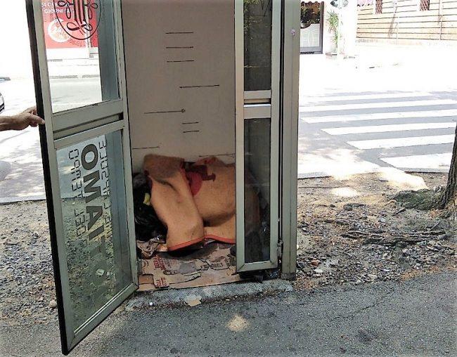 Cabina letto: qui dorme una persona