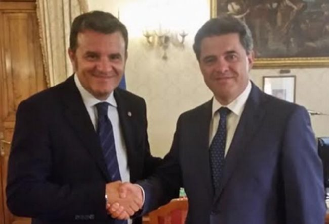 Ente Risi: Carrà incontra il Ministro Centenaro