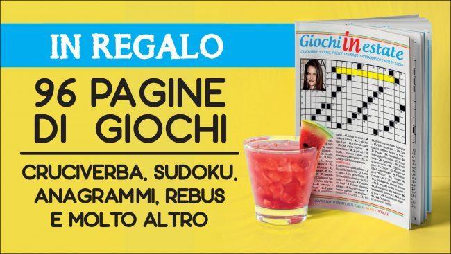 Giochi in estate: con Notizia Oggi Vercelli 96 pagine di enigmistica in regalo!